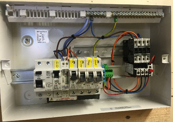 Electair control panels